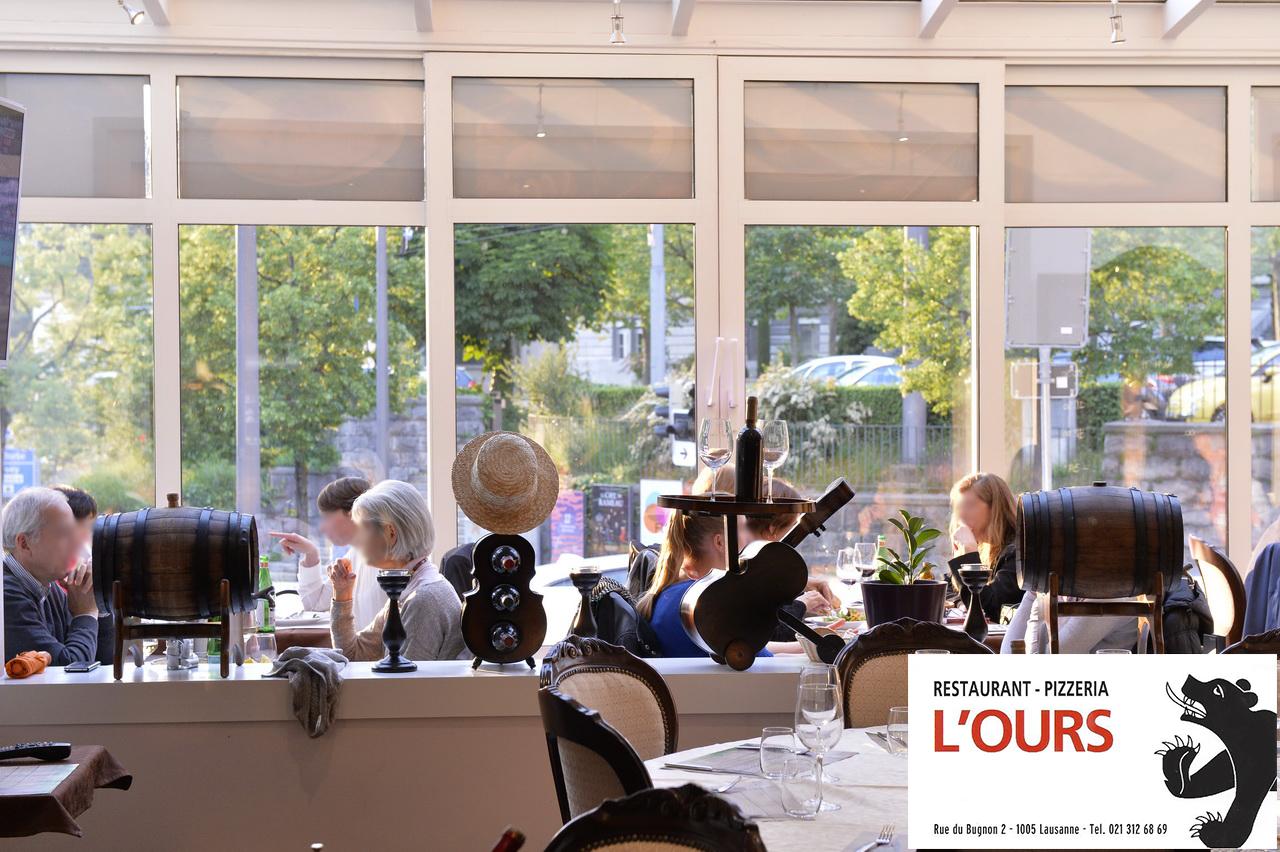 Restaurant de l 39 ours lausanne chf 20 offerts sur la for Atelier cuisine lausanne