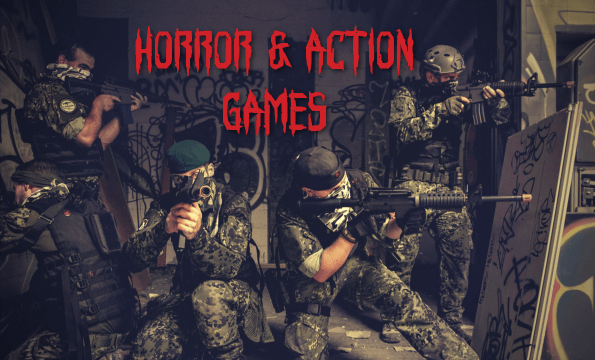 LASER GAME HORREUR HALLOWEEN | CHF 5.- offerts
