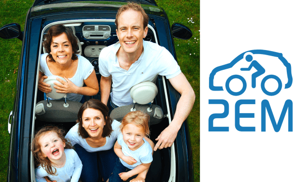 2EM Car Sharing | PARTAGE VÉHICULES | CHF 15.- offerts