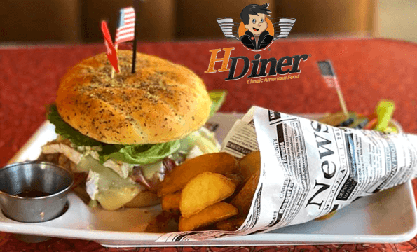 HDINER AMERICAN FOOD MORGES | CHF 20.- offerts