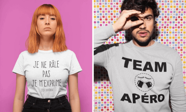 T-SHIRTS, SACS & ACCESSOIRES | CHF 10.- offerts