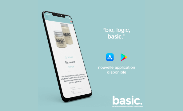 NOUVELLE APPLICATION BASIC. | CHF 10.- offerts
